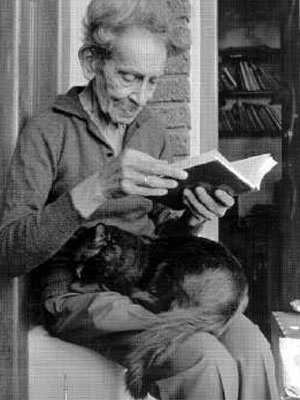 Buenos amigos, un libro y un gato