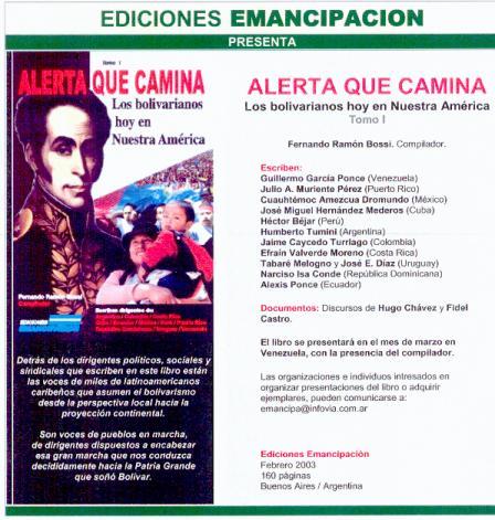 Libro Los Bolivarianos Hoy en Nuestra América