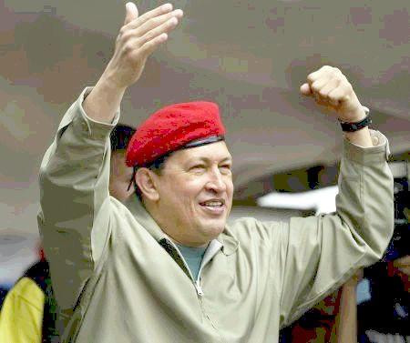 Cmdte. Hugo Chávez Frías.